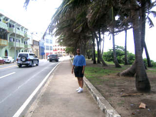 hour walk to Old San Juan