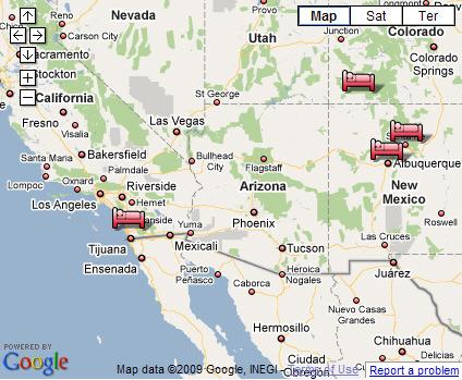 Sw Us Map   woestenhoeve