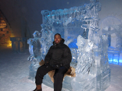 A Night in the Ice Hotel